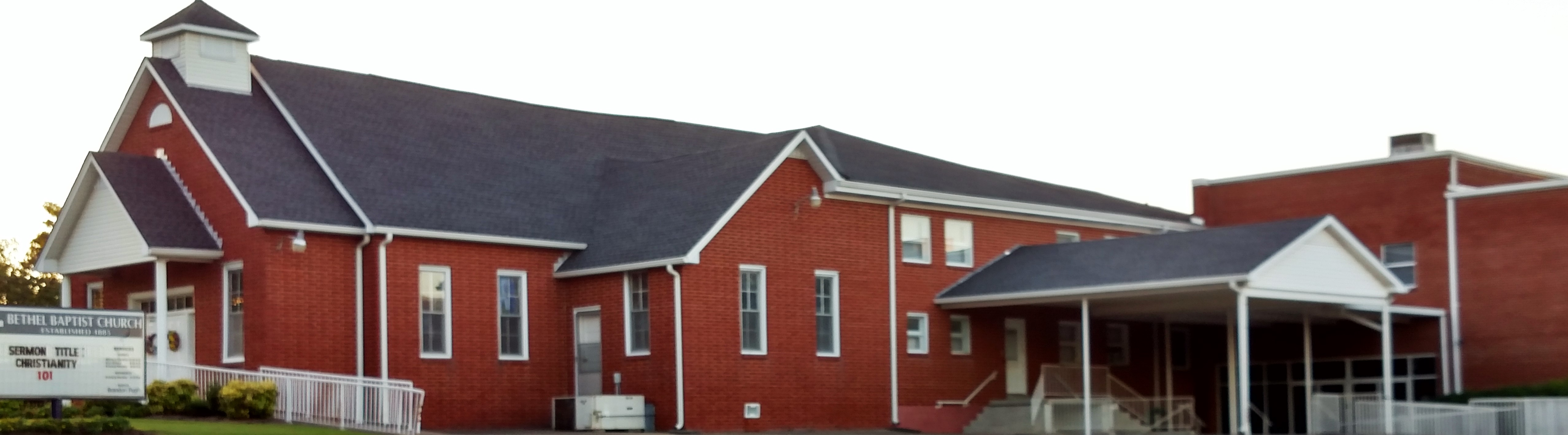 Bethel Baptist Church Page Banner Image